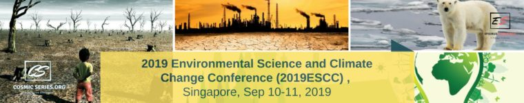 2019 Environmental Science and Climate Change Conference upcoming event
