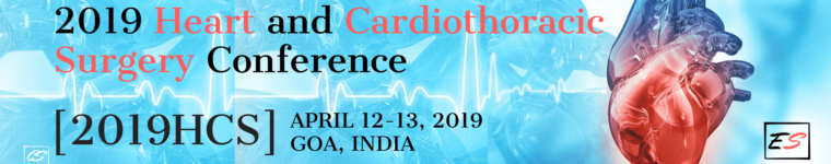 2019 Heart and Cardiothoracic Surgery Conference upcoming event