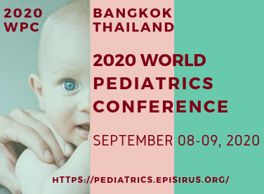 2020 World Pediatrics Conference, Bangkok Thailand September 2020