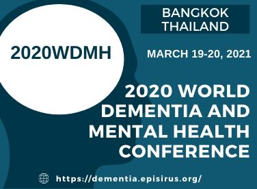 2020 World Dementia and Mental Health Conference episirus march 2021