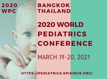 world pediatrics conference episirus march 2021