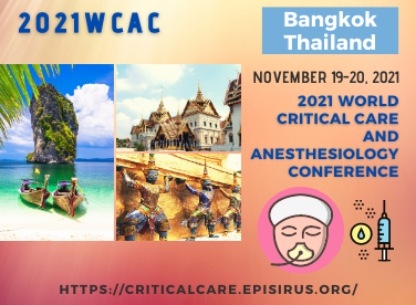 2021 WCAC critical care and anesthesiology conference bangkok
