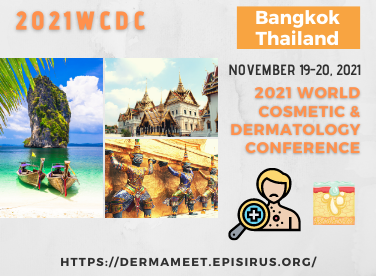 2021WCDC dermatology and cosmetic conference bangkok