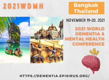 2021WDMH dementia and mental health conference