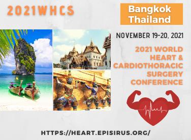 2021 WHCS heart conference bangkok