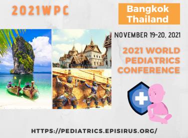 2021WPC pediatrics conference bangkok